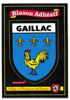 Gaillac Blason Adhésif - Gaillac