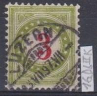 SUISSE   'TAXE' :   Le ZNr. 16DbIIK, Oblitéré - Strafportzegels