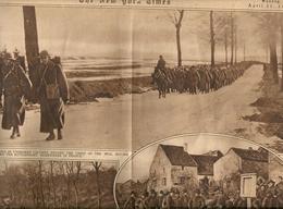 THE NEW YORK TIMES   1918 --1917 GUERRA E  ALTRO --RARO  DOCUMENTO  DI  BATTAGLIE - 1900-1949