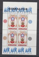 Gibraltar 1976 US Bicentennial Booklet Pane ** Mnh (42449) - Gibraltar