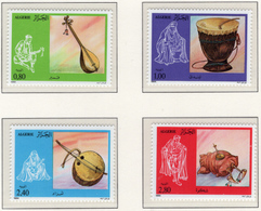 1984 - ALGERIA - Yv.  Nr. 818/821 - NH - (UP131.48) - Algeria (1962-...)
