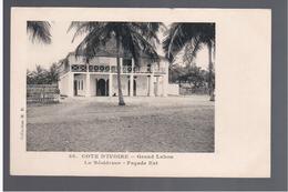 Cote D'Ivoire Grand Lahou La Résidence - Façade Est Ca 1910 OLD POSTCARD - Côte-d'Ivoire
