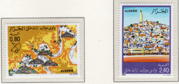 1984 - ALGERIA - Yv.  Nr. 826/827 - NH - (UP131.49) - Algeria (1962-...)