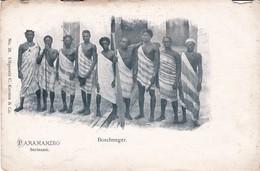 Suriname Paramaribo Boschneger, Carte Rare - Suriname