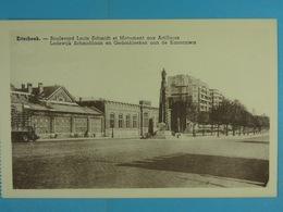 Etterbeek Boulevard Louis Schmidt Et Monument Aux Artilleurs - Etterbeek
