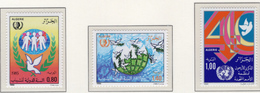 1985 - ALGERIA - Yv.  Nr. 841+843/844 - NH - (UP131.49) - Algeria (1962-...)