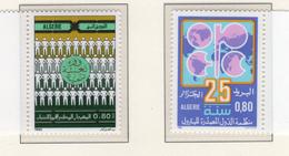 1985 - ALGERIA - Yv.  Nr. 842+845 - NH - (UP131.49) - Algeria (1962-...)