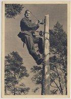 DR - Feldpostkarte (AK Fernmelder) 1942 Frankreich (Cherbourg) Fp 39910 Villach - Germany