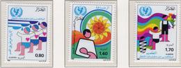 1986 - ALGERIA - Yv.  Nr. 862/864 - NH - (UP131.49) - Algeria (1962-...)