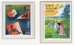 1986 - ALGERIA - Yv.  Nr. 867+868 - NH - (UP131.49) - Algeria (1962-...)