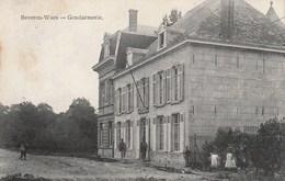 BEVEREN-WAAS - De Gendarmerie - Mooie Animatie - Uitg. Van Remoortel-Smits - Photo François, Merxem - 1913 - Rare - Beveren-Waas