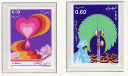 1986 - ALGERIA - Yv.  Nr. 874+875 - NH - (UP131.49) - Algeria (1962-...)