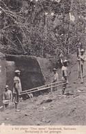 Suriname Op Het Placer Dien Mersi Sarakreek Werkplaats In Het Geberbte - Suriname