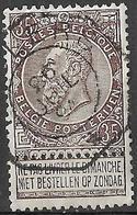 9W-965: ROULERS : N°61: Telegraafstempel - 1893-1900 Fine Barbe