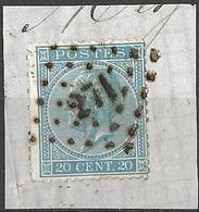 9W-964: NINOVE : N°18 - 1865-1866 Profil Gauche