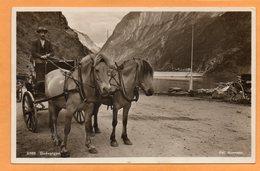Gudvangen Norway 1920 Postcard - Norwegen