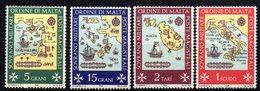 Serie  De 1968  Orden Militare De Malta. - Barcos