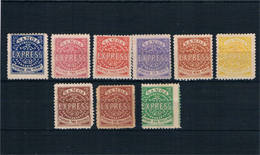 Samoa. Conjunto De 9 Sellos Clásicos Nuevos - Samoa Americano