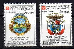 Sellos  De 1987 Orden Militare De Malta.1 - Barcos