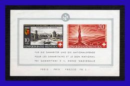 1942 - Suiza - Sc. B 119 - MNH - Pro Patria - 2000 Años Fundacion De La Ciudad De Ginebra - SU- 318 - 02 - Bloques & Hojas