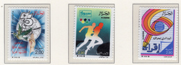 1988 - ALGERIA - Yv.  Nr. 923+927+932 - NH - (UP131.50) - Algeria (1962-...)