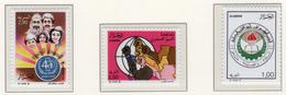 1988 - ALGERIA - Yv.  Nr. 933+934+935 - NH - (UP131.50) - Algeria (1962-...)