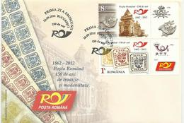 RO 2012-24-09 POST DAY , ROMANIA, FDC - FDC