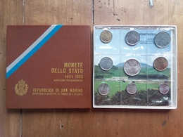 SAN MARINO - Monete 1980 F.D.C. + Spese Postali - Saint-Marin
