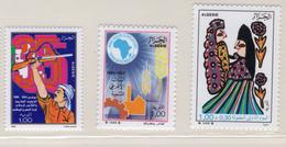1989 - ALGERIA - Yv.  Nr. 954+965+970 - NH - (UP131.51) - Algeria (1962-...)