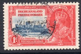 Bechuanaland GV 1935 Silver Jubilee 1d Value, Used, SG 111 (A) - Bechuanaland (...-1966)