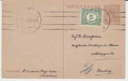 NEDERLAND BRIEFKAART 15 DECEMBER 1922 - Entiers Postaux