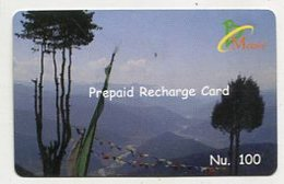 TK 04062 BHUTAN - Prepaid - Bhutan