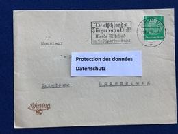 Deutschland- Drittes Reich - Schering AG Berlin - Briefumschlag - 19.06.35 - Enveloppe - Nach Luxemburg - Germany
