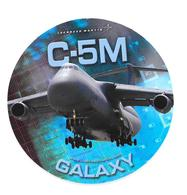 Autocollant C-5M - Galaxy - Lockheed Martin - Aviation