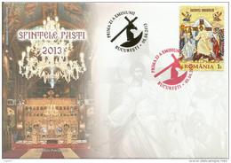 RO 2013 ESTER, ROMANIA, FDC - FDC