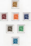 1972 - ALGERIA - Yv.  Nr. TAXE 65/71 - NH - (UP131.52) - Algeria (1962-...)