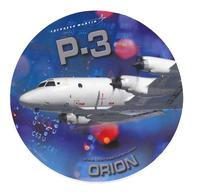Autocollant P-3 - Orion - Lockheed Martin - Aviation