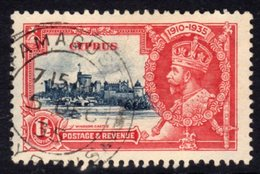Cyprus GV 1935 Silver Jubilee 1½ Pi. Value, Used, SG 145 (A) - Cyprus (...-1960)