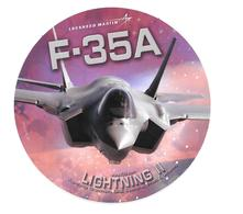 Autocollant F-35A - Lightning II - Lockheed Martin - Aviation