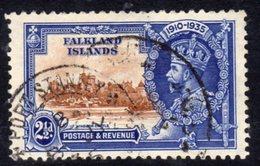 Falkland Islands GV 1935 Silver Jubilee 2½d Value, Used, SG 140 (A) - Falkland Islands
