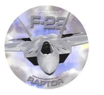 Autocollant F-22 - Raptor - Lockheed Martin - Aviation