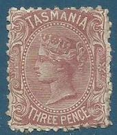 Timbre Tasmanie Neuf - 1853-1912 Tasmania
