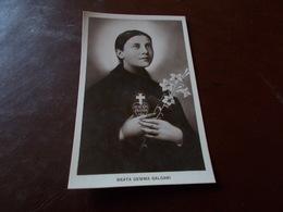 B723   Beata Gemma Galgani Cm14x9 Non Viaggiata - Religioni & Credenze