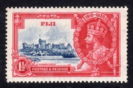 Fiji GV 1935 Silver Jubilee 1½d Value, Hinged Mint, SG 242 (A) - Fiji (...-1970)