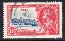 Fiji GV 1935 Silver Jubilee 1½d Value, Used, SG 242 (A) - Fiji (...-1970)