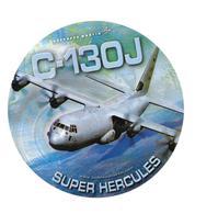 Autocollant C-130J - Super Hercules - Lockheed Martin - Aviation
