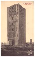 121  MAROC-RABAT   LA TOUR HASSAN    CARTE ANIMEE - Rabat