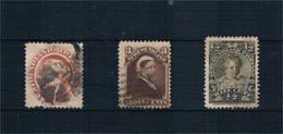 Newfouland. Conjunto De 3 Sellos  Usados 24-42-63 - Ecuador