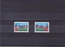 FINLANDE 1971 ATHLETISME Yvert 659-660 NEUF** MNH - Finlande