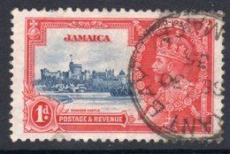 Jamaica GV 1935 Silver Jubilee 1d Value, Used, SG 114 (A) - Jamaica (...-1961)